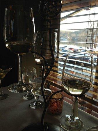 Lambertville Station Restaurant : Cool Wine Flight