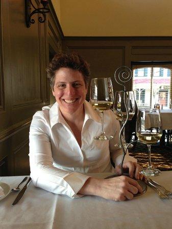 Lambertville Station Restaurant : 44th birthday enjoying a wine flight