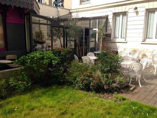 jardin photo de h tel des jardins vincennes tripadvisor. Black Bedroom Furniture Sets. Home Design Ideas