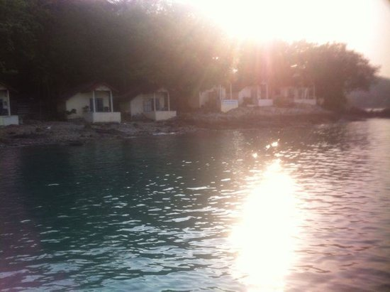Sunrise Villas Resort: View from a boat