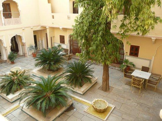 Samode Haveli : Private courtyard