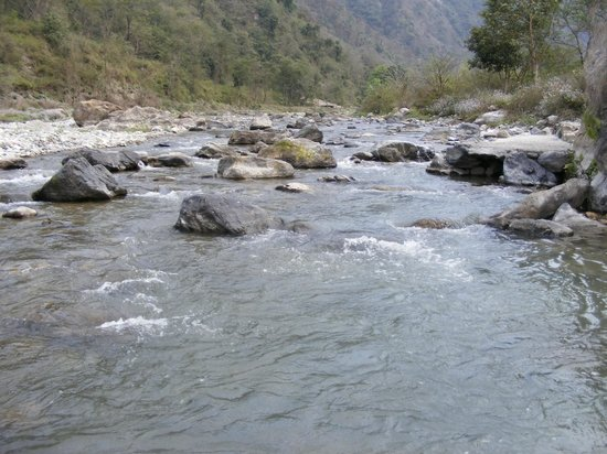 Rishikesh Valley: River Nearby