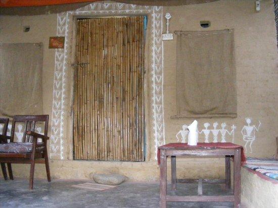 Rishikesh Valley: Room facade