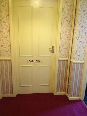 Parkbury Hotel: Sauna in Hotel