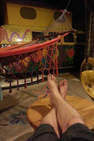 Balsa Surf Camp : My van accommodations, super neat