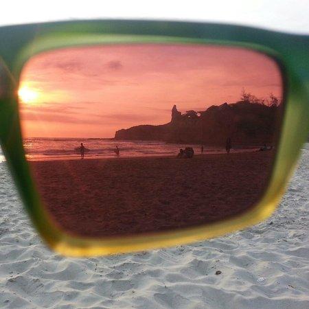 Balsa Surf Camp: Sunset at beach