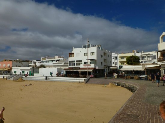 Hotel Riu Palace Tres Islas: Old Harber in town
