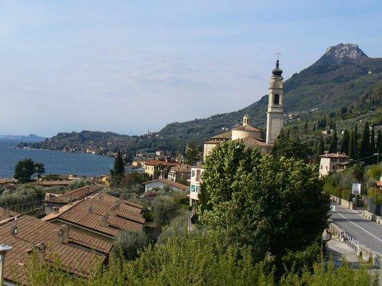 Hotel Meandro: Blick auf das Ortszentrum von Gargnano