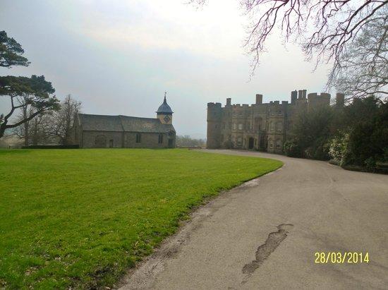 Croft Castle and Parkland: Approach