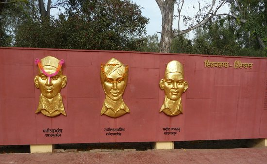 Firozpur, Inde : The Three Martyrs