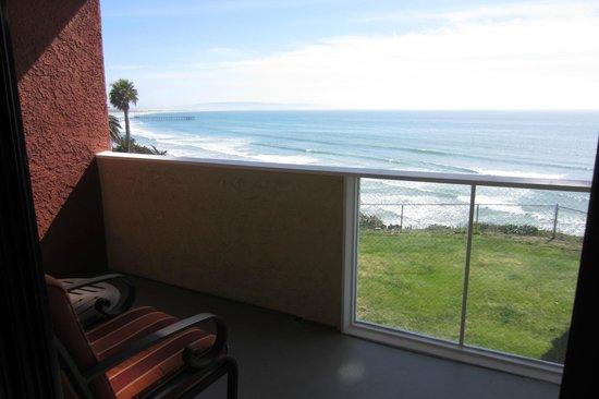 SeaCrest OceanFront Hotel : Balcony