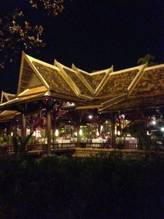 Angkor Village Resort: view from the restaurant
