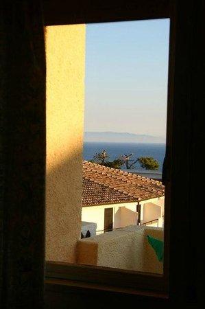 Hotel Punta Faro: Вид из номера