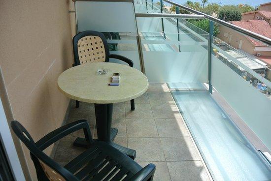 Hotel Kaktus Playa: Балкончик
