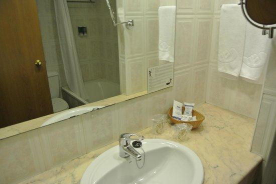 Hotel Kaktus Playa : Ванная комната и санузел совмещены.