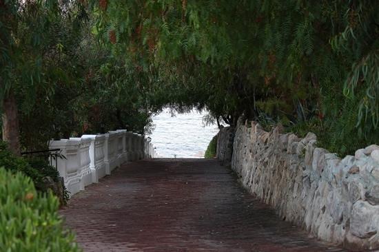 Green Beach Resort: выход к морю