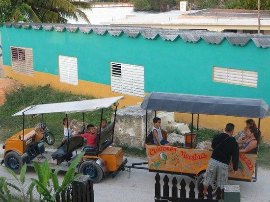 Villa Rio-Mar: le petit train qui passait touts les soirs en boucle...