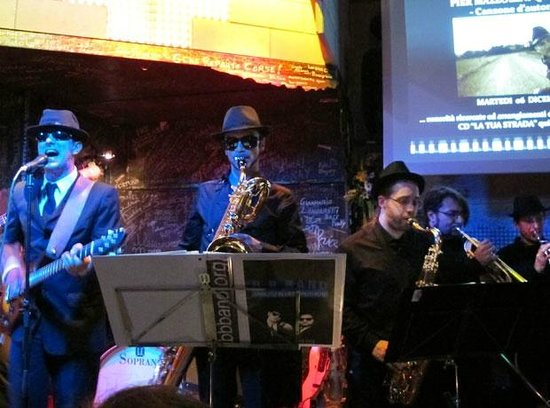 Paprika Jazz Club Dalmine: Band Exibition