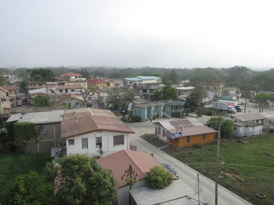 Picture of San Ignacio from top of Rainforest Haven Inn