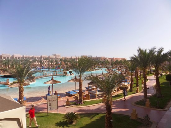 Albatros Palace Resort: вид из номера