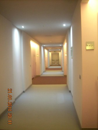 Cosmopolitan Business Hotel: corridoio