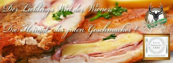 Best Viennese Schnitzel XXL Schnitzel Leopoldauer Alm XXL Restaurant