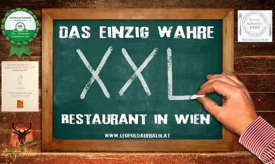 Leopoldauer Alm XXL Restaurant einzigartig in Wien !