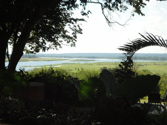 Imbabala Zambezi Safari Lodge : View from the hotel