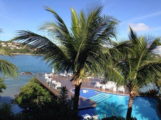 Hotel Ferradura Private: Vista no quarto, número 101 - março 2014