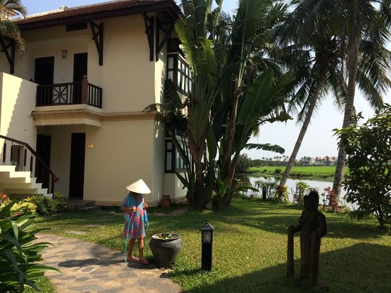 Hoi An Riverside Resort & Spa : River view rooms