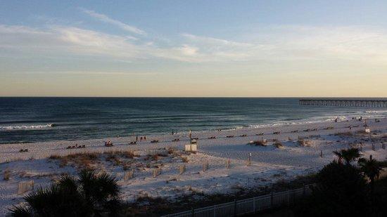 Hampton Inn Pensacola Beach: Gulf view from room.