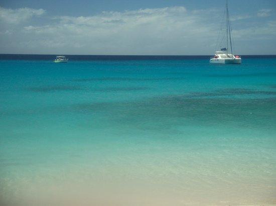 The St James: the beach