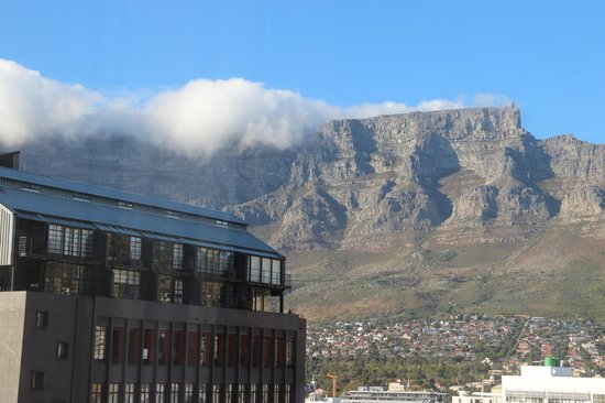 Hilton Cape Town City Centre: Table Mountain View from my room