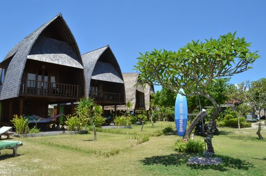 Suka Beach Bungalow: The 4 bungalows at Suka Beach