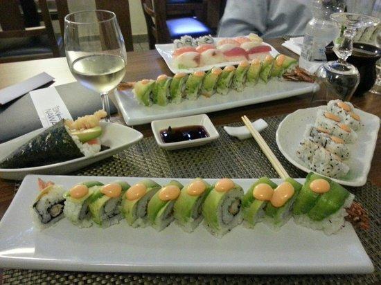 Okinawa: Dragon green roll