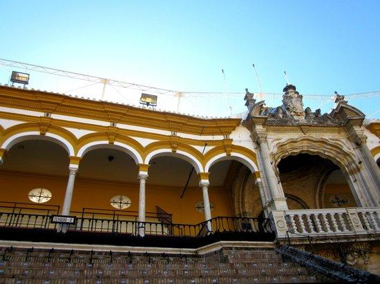 Plaza de Toros de la Maestranza: inside