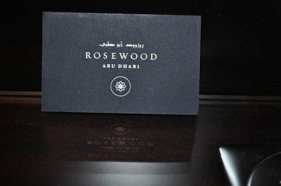 Rosewood Abu Dhabi: Logo