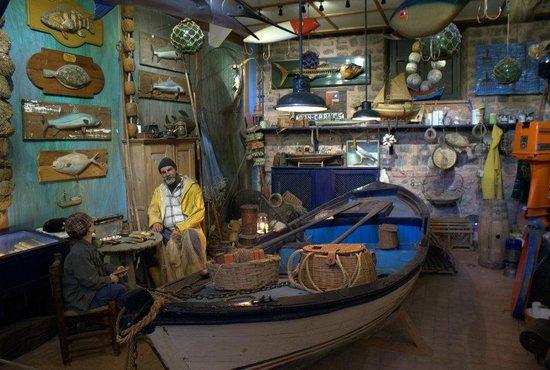 Rahmi M. Koc-Museum: Лодочная мастерская