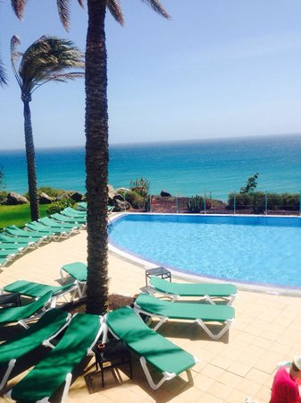 TUI MAGIC LIFE Fuerteventura: Pool over looking sea