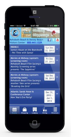 Rehoboth Beach-Dewey Beach Chamber of Commerce: Check out our Android and iPhone app for the Rehoboth Beach - Dewey Beach Chamber of Commerce