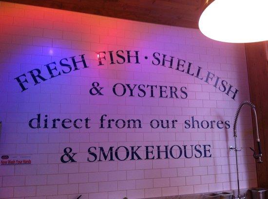 Loch Fyne: fish counter