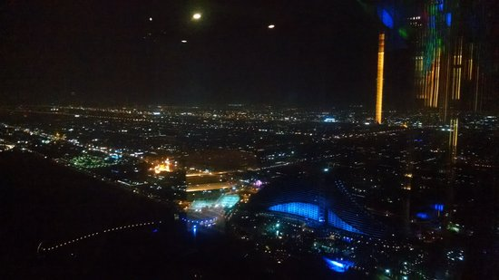 Burj Al Arab Jumeirah : view from skyview bar