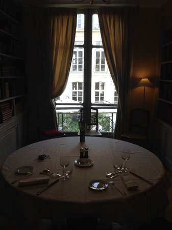 Le Poulpry : Salon privé La Bibliothèque