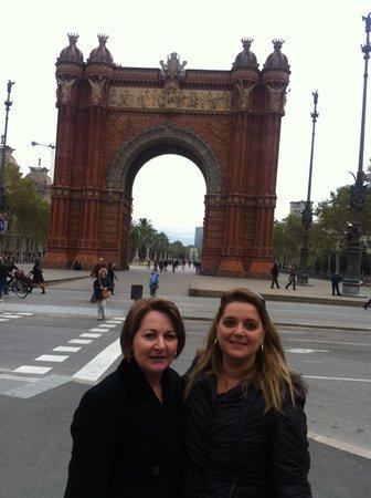 Arc de Triomf : Arco do Triumfo