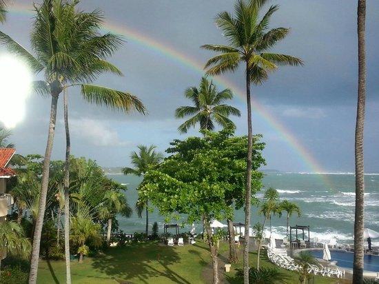 Velero Beach Resort: Beautiful Rainbow over Cabarete Bay