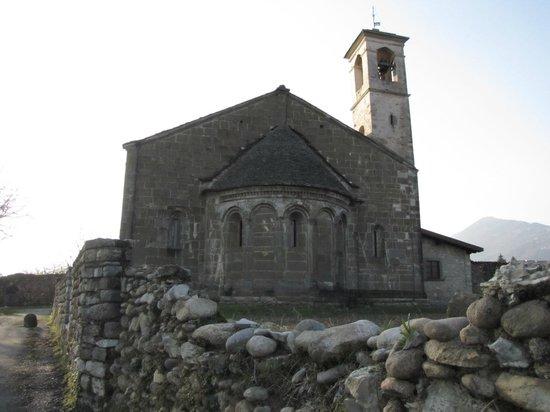 Chiesa di San Giorgio in Lemine : l'abside