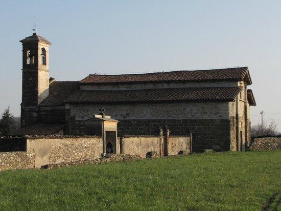 Chiesa di San Giorgio in Lemine : la chiesa e il muro cimiteriale