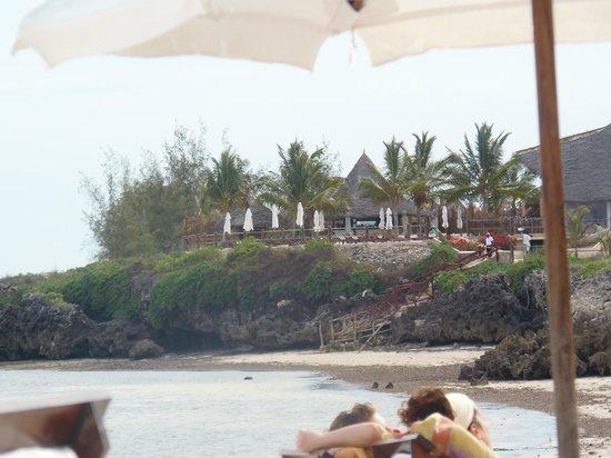 Ora Resort Watamu Bay : sala ristorante vista dal mare