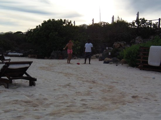 Ora Resort Watamu Bay: bocce!