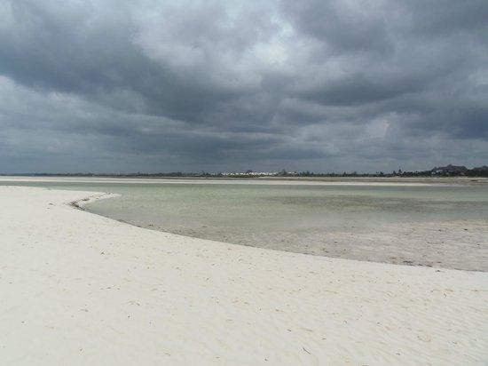 Ora Resort Watamu Bay: visuale della bassa marea